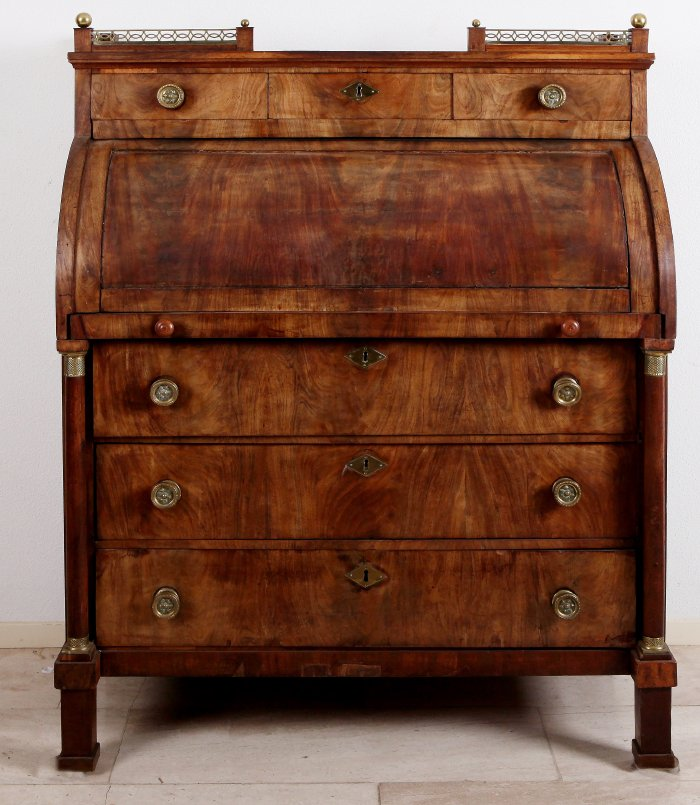 Mahonie Empire secretaire