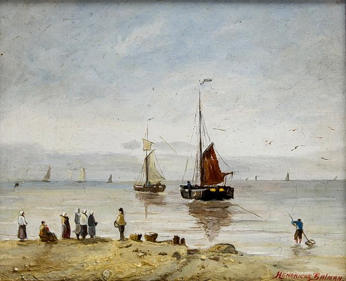 H. Balman, botters aan de kust