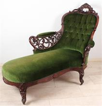 Online katalog twents veilinghuis for Chaise longue barok