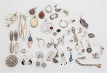 Diverse zilveren sieraden