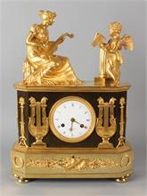 Empire pendule, 2 figuren