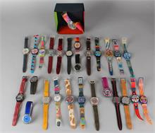 Groot lot Swatch horloges