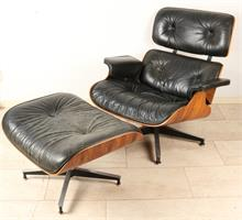 Design lounge stoel, 'Charles & Ray Eames'.