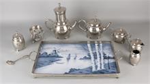 8-Delig Plated servies + tablet