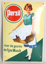 Emaille Persil reclamebord, 1930
