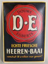 Emaille reclamebord Douwe Egberts