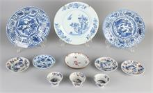 Lot Chinees porselein (9x)